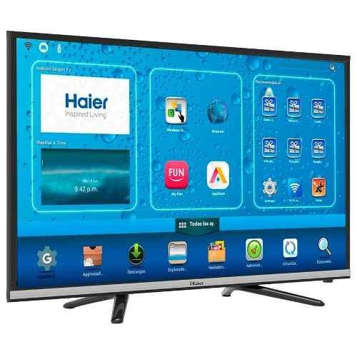 Smart Tv Led Haier 32' Hd Android Marco Fino Oferta Loi