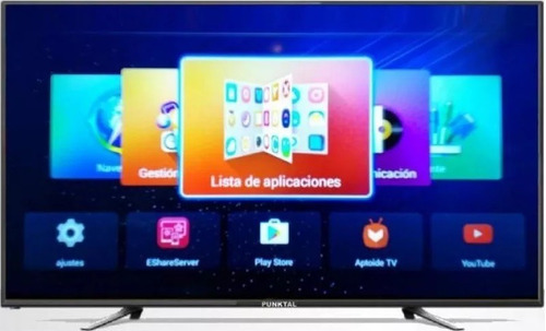 smart tv led punktal 50 usb hd wifi netflix youtube android