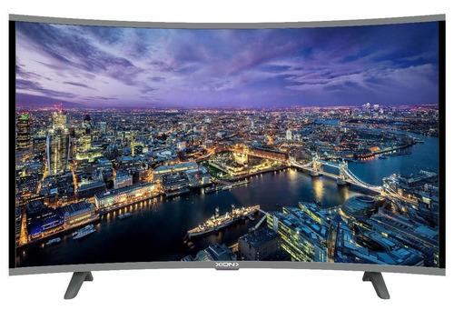 smart tv led xion 55 curvo ultra hd wi fi netflix oferta pcm