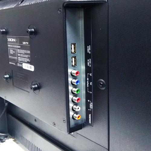 smart tv televisor led 32 xion con barra de sonido futuro21