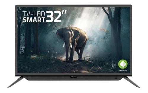 smart tv xion 32 con barra sonido botón netflix youtube wifi