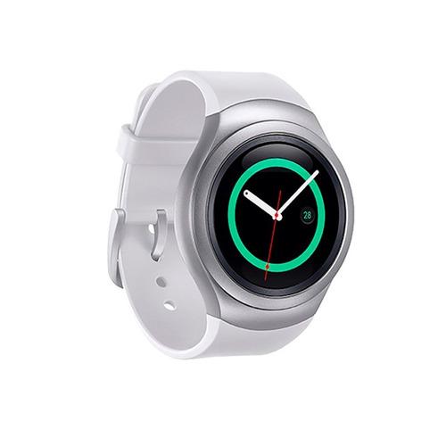 smartwatch samsung gear s2 r720 ip68 4gb tizen dc blanco