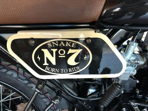 snake 125 jack black  con gps (instalación no incluida)