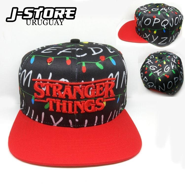 Snapback De Stranger Things Gorro Visera -   550 0bba13ea45e
