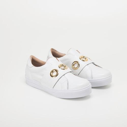 sneakers de mujer color blanco - championes de dama bellmur