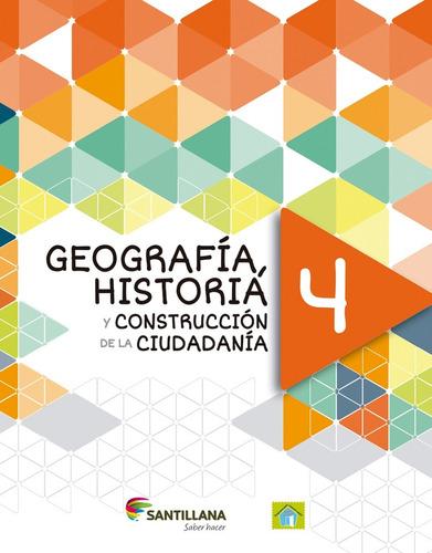 sociales4.saber hacer. historia geografía  santillana.envíos