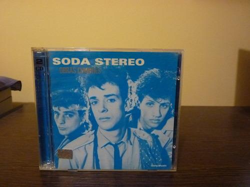 soda stereo - obras cumbres - disco doble.