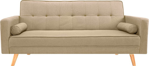 sofá cama azul sillon sillones living divino