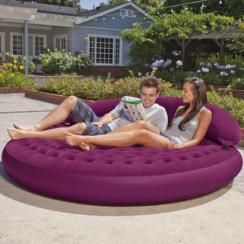 sofa cama sillon lounge comodo inflable intex msi