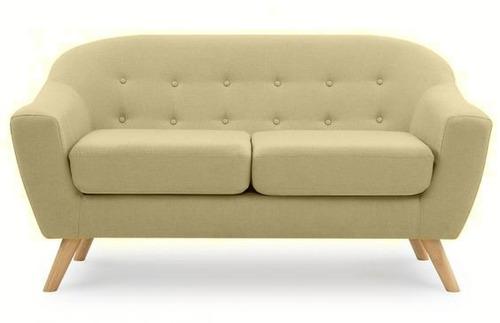 sofá escandinavo 3 cps. forum design beige