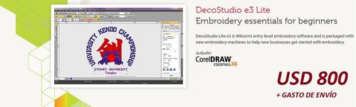 software diseño y matrices de bordado. wilcom original!!!