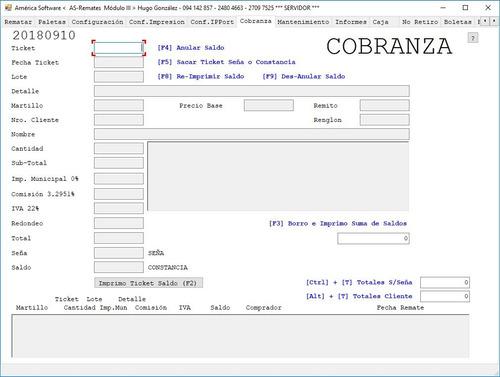 software (programa) de gestión de remates (as-remate)