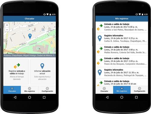 software ti-power reloj checador compatible con app opcional