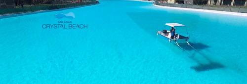 solanas casa increible!!! crystal beach incluido