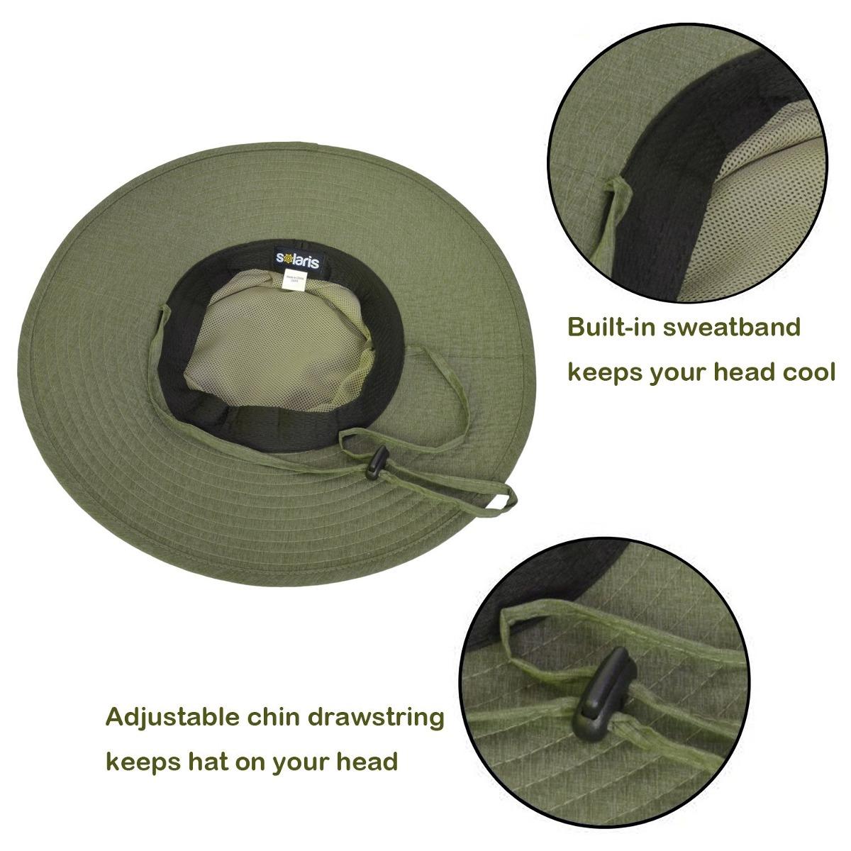 Solaris Outdoor Sun Protection Hat Sombrero Ancho Safari. - U S 44 ... 9edb4698818