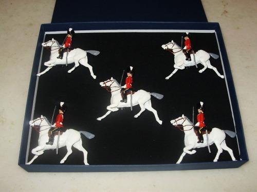 soldaditos de plomo britains ecuestres en caja, $ 2500.00