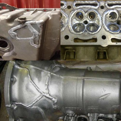 soldador soldaduras en aluminio e inoxidable
