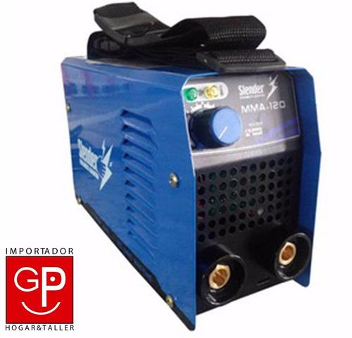 soldadora inverter 120 amp slender g p