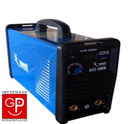 soldadora inverter 250 amp slender g p