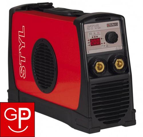 soldadora inverter solter styl 205 pro-digital 200amp g p