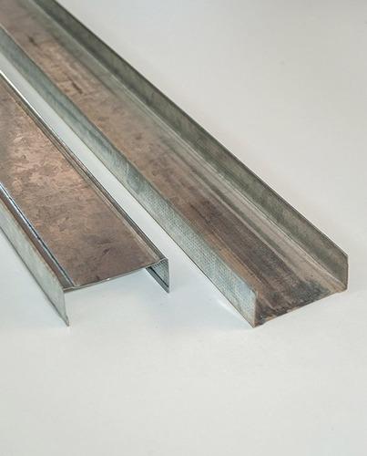 solera de chapa galvanizada para yeso 70 x 2,60
