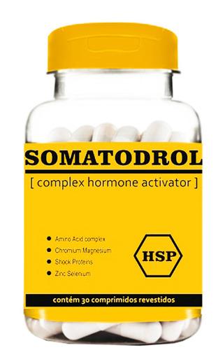 somatodrol cápsulas testosterona suplemento natural 90 cps