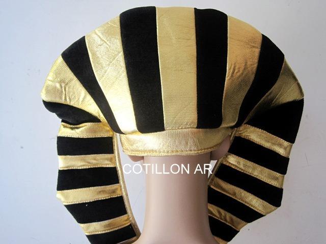 d4bc8da318f19 Sombrero De Faraón En Tela Metalizada. Gorro Egipcio. -   290