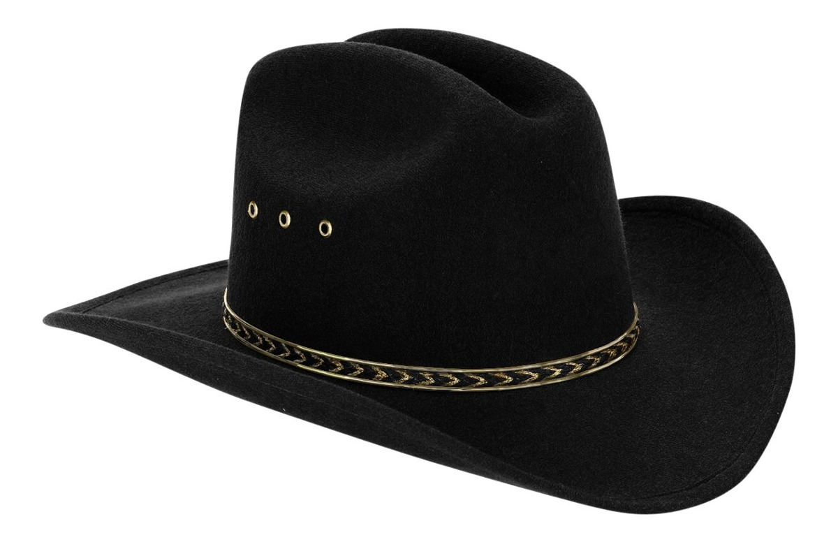 94a5ec3bdaa22 sombrero de vaquero del niño negro occidental para niños. Cargando zoom.