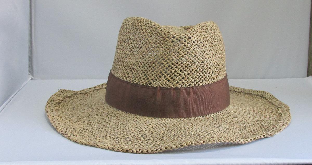 8c016bb0d783d Sombrero De Verano En Fibra Vegetal O Alga Marina -   1.800
