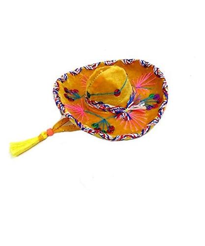 sombrero pequeño mariachi de terciopelo en color surtido