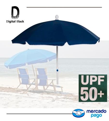 sombrilla playa reforzada - protección uva y ubv (50+)