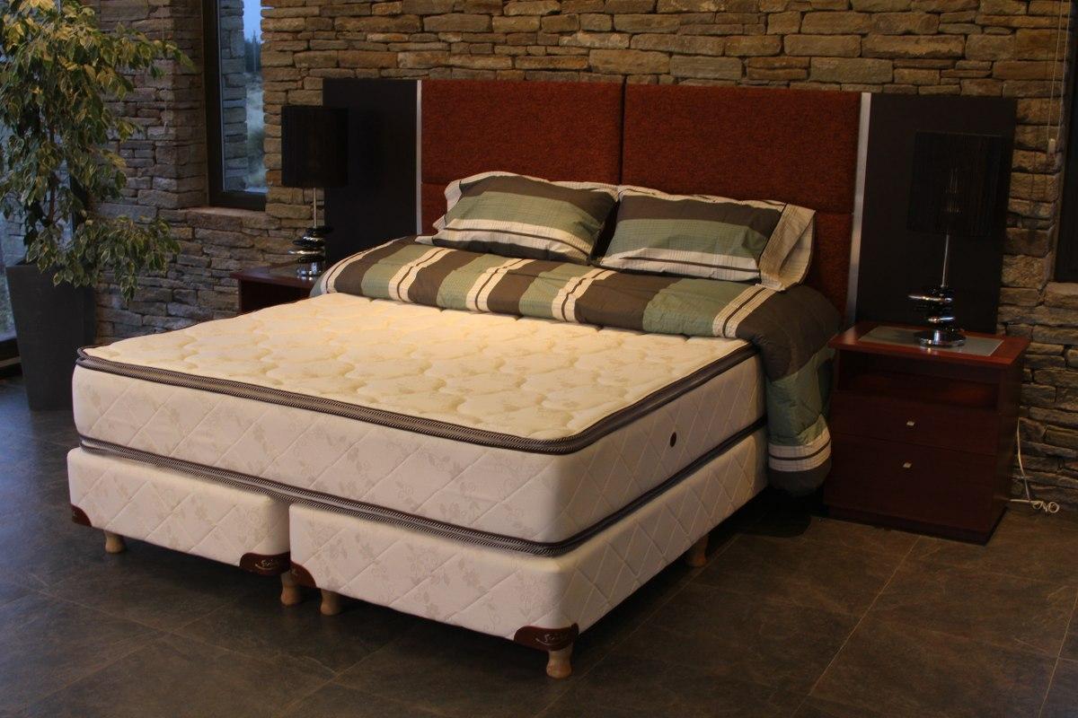 Sommier Colchon Coihue Suite 1.50 X 1.90mts. Línea Hotel