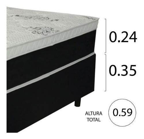 sommier somier colchón 2 plazas 59 cm 150 kg summer 1.60