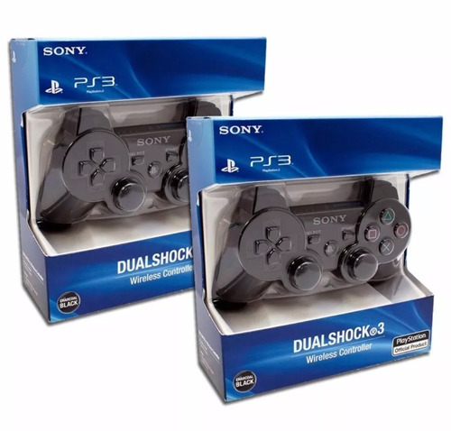 sony dualshock 3 joystick ps3 original en blister sellado