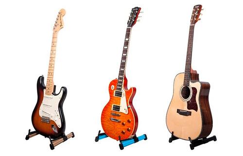 soporte atril de piso para guitarra bajo o ukelele joyo