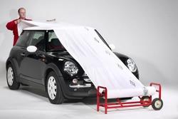 soporte c/ ruedas p/ bobina nylon enmascarar autos taller t2