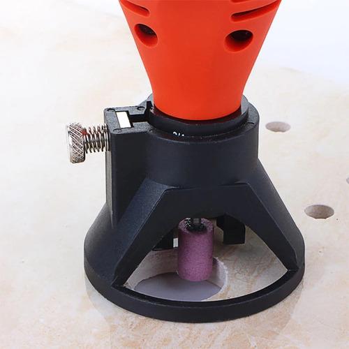 soporte guia corte multiuso para torno dremel electroimporta