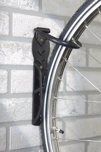 soporte para bicicleta colocar en pared enganchar de rueda