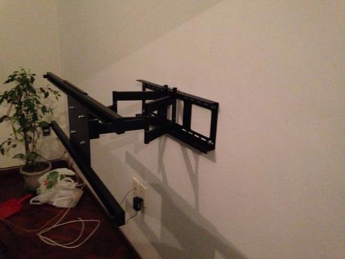 soporte para tv desde 40' hasta 72'.  gira 180 grados