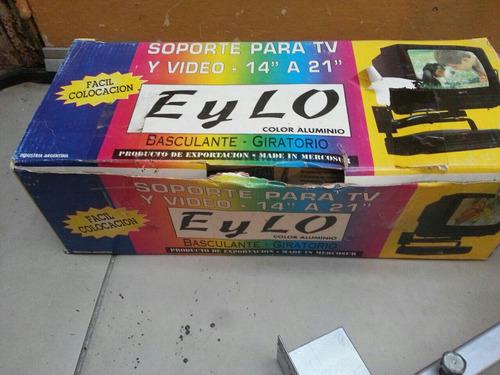 soporte para tv y video de 14  a 21