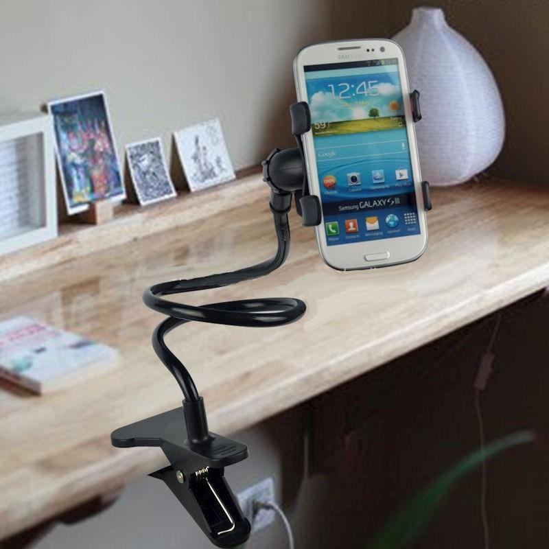 56d68947db1 soporte pinza celular mesa escritorio cama trabajo casa ®. Cargando zoom.