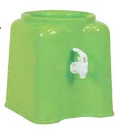 soporte plástico con canilla para bidón de agua 12 - 20 lts