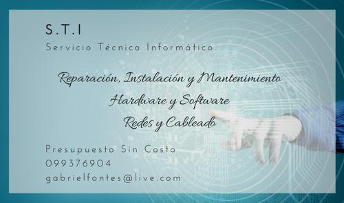 soporte técnico informático - hardware, software y redes