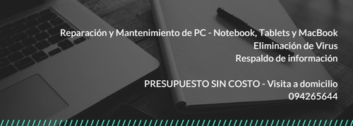 soporte técnico pc / notebook / tablet / redes / macbook