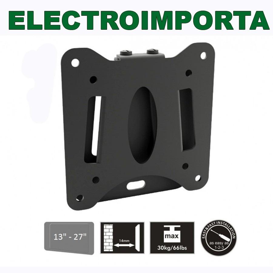 f066976f3eb Soporte Tv - Lcd - Led Fijo 13-27 Pulgadas - Electroimporta - $ 195 ...