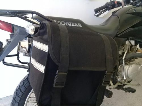soportes y maletas honda nx,xr,xtz