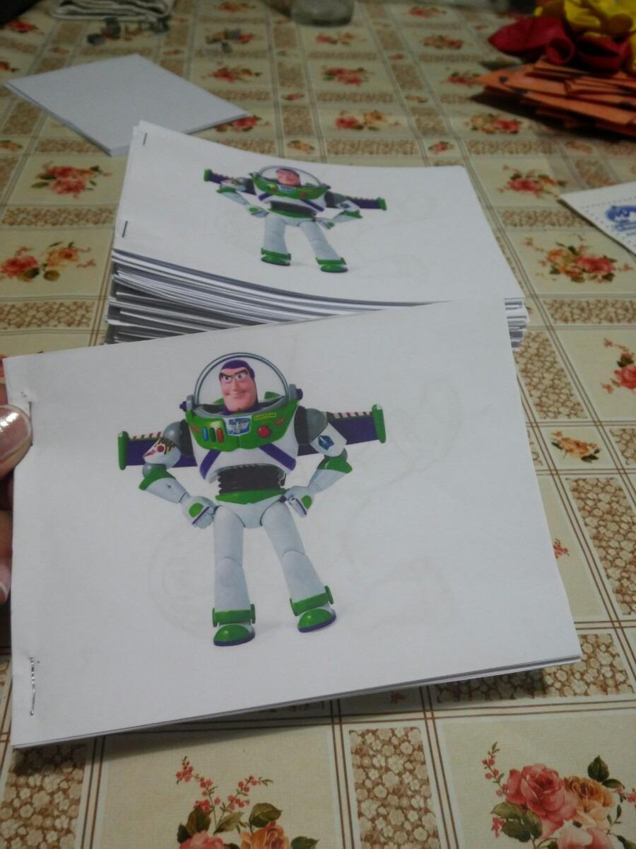 Sorpresitas Libritos Para Colorear Buzz Lightyear - $ 10,00 en ...