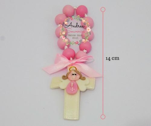 souvenirs rosarios denarios bautismo comunión angelito