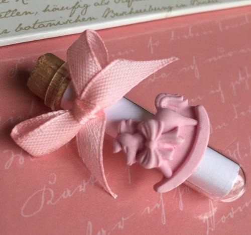 souvenirs tubo 5 cm. arpillera bodas 15 años baby shower