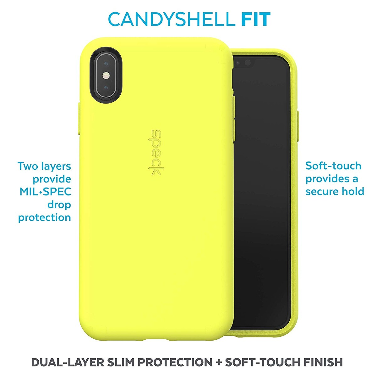 cheap for discount 0c8e7 6788e Speck Products Candyshell Fit iPhone Xs Max Case Antifreez